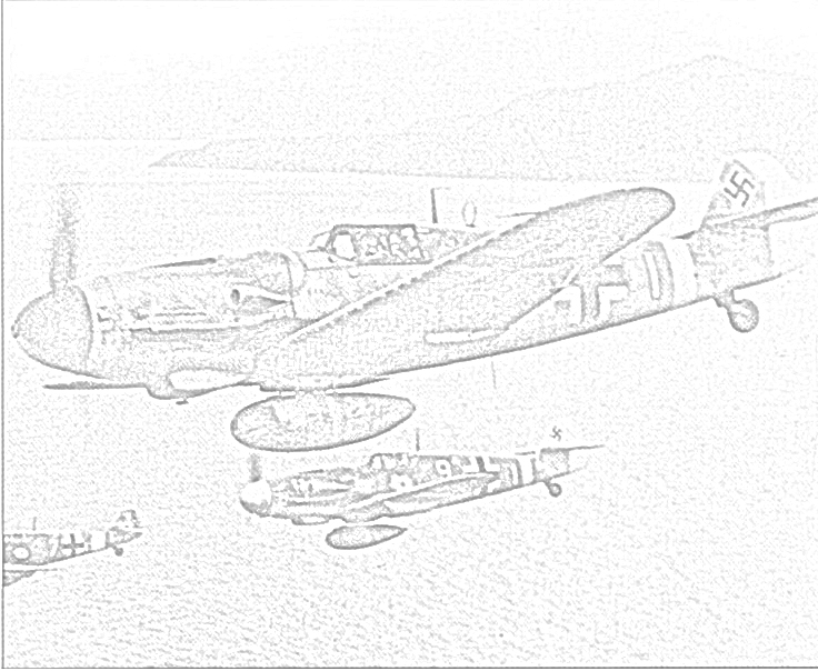 736x604 World War Ii In Pictures Fighter Coloring Pages World War Ii