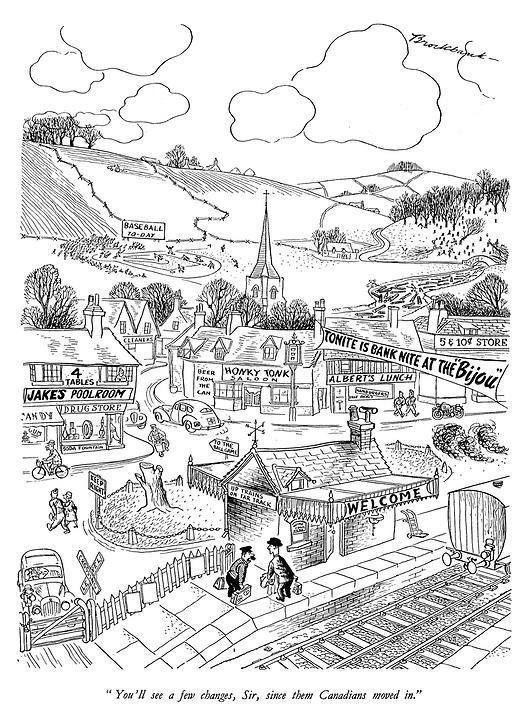 531x720 Punch Cartoons On Ww2, The Second World War Punch Magazine
