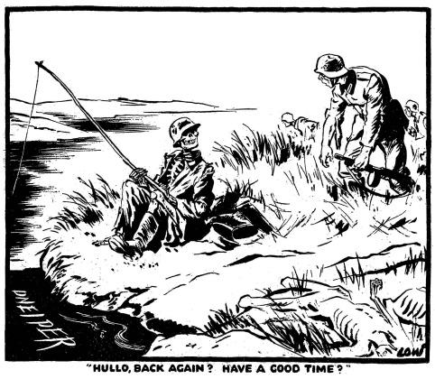 482x420 Second World War Cartoons By The British Cartoonist David Low