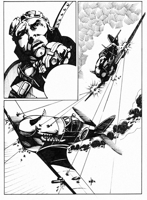 516x700 Ww2 Comic Page By On @