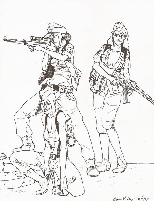 600x785 Ww2 German Girls By Warman707