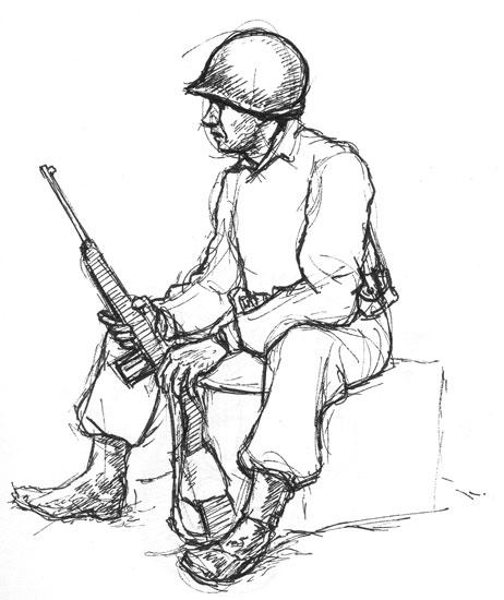 462x550 Carbine Wwii Gis