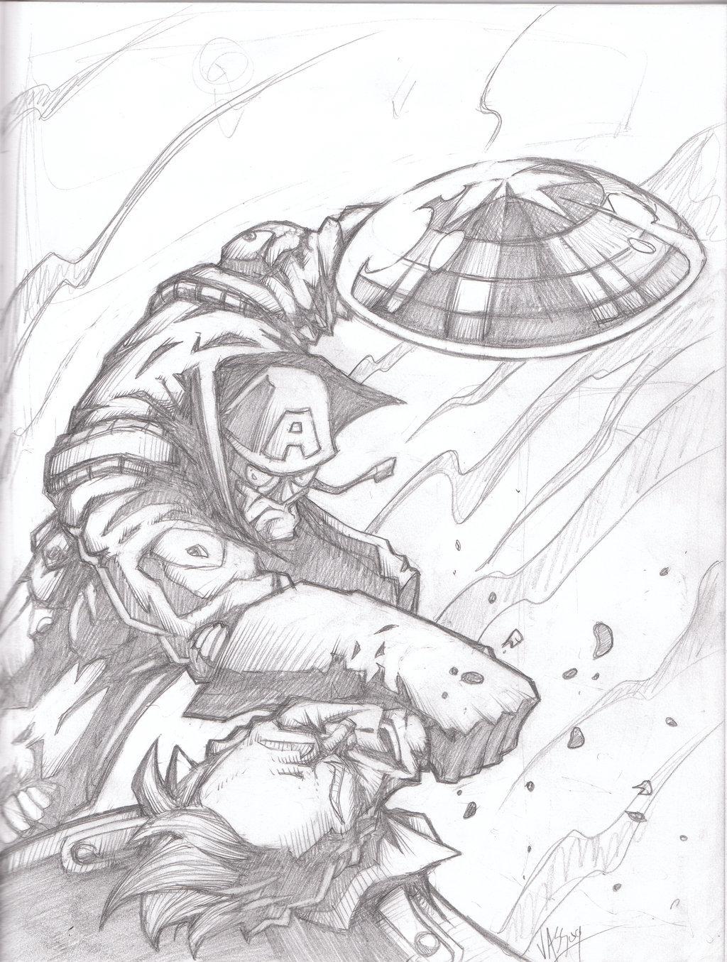 1024x1355 Ww2 Cap Action Figure Pencils By Vass Comics