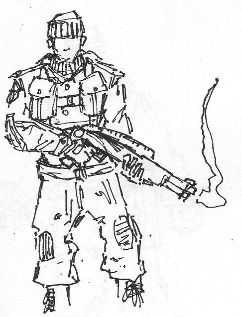 486x636 Ae Ww2 British Commando By Xeoram