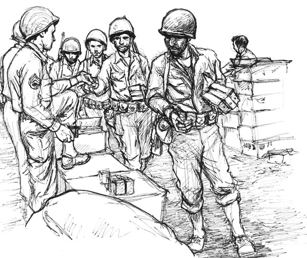 600x504 Drawing Wwii Gis Page 6