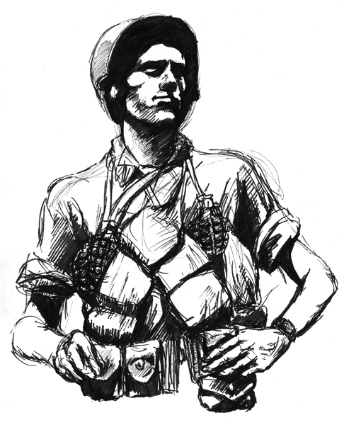 military coloring pages iraq | Ww2 Soldier Drawing at GetDrawings.com | Free for personal ...