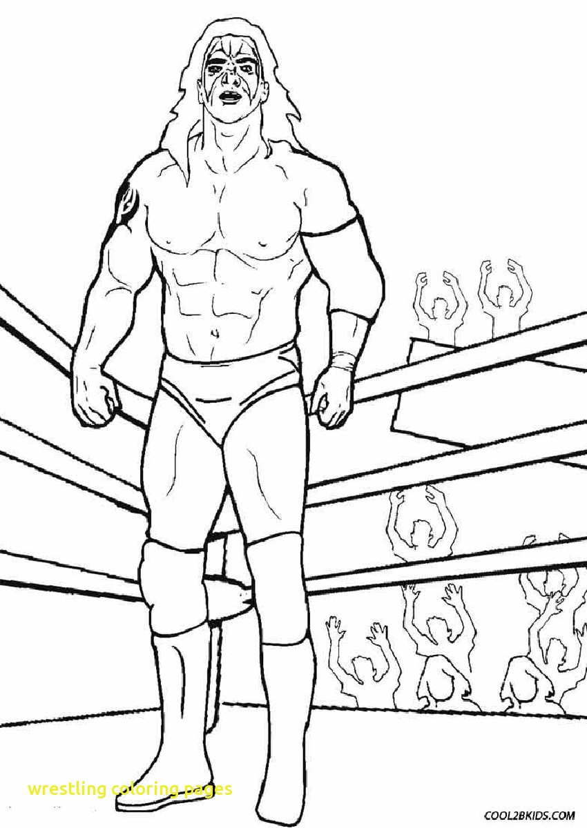 850x1200 Wrestling Coloring Pages With Wwe Coloring Book Cartoon Wrestling