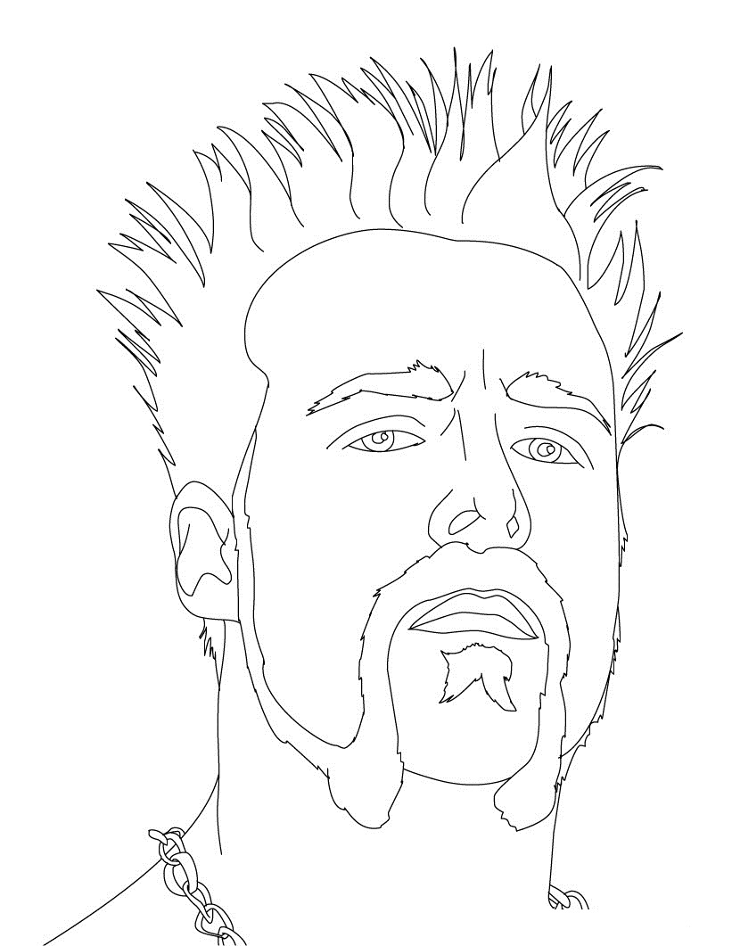 821x1061 Wwe Coloring Pages Free Printable Wwe Coloring Pages For Kids