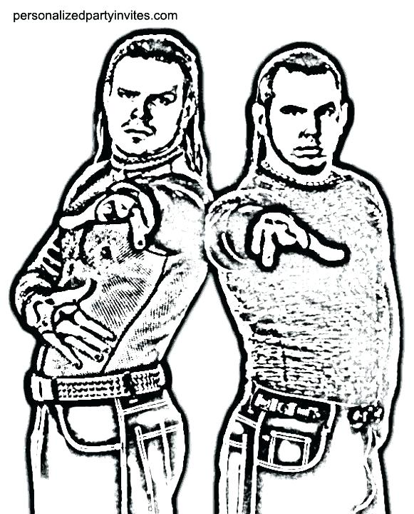581x720 Wrestling Color Pages Wrestling Coloring Pages Hardy Boys Coloring