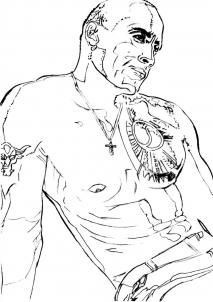 Wwe Brock Lesnar Drawing