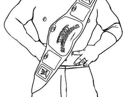Wwe Championship Drawing at GetDrawingscom Free for personal use