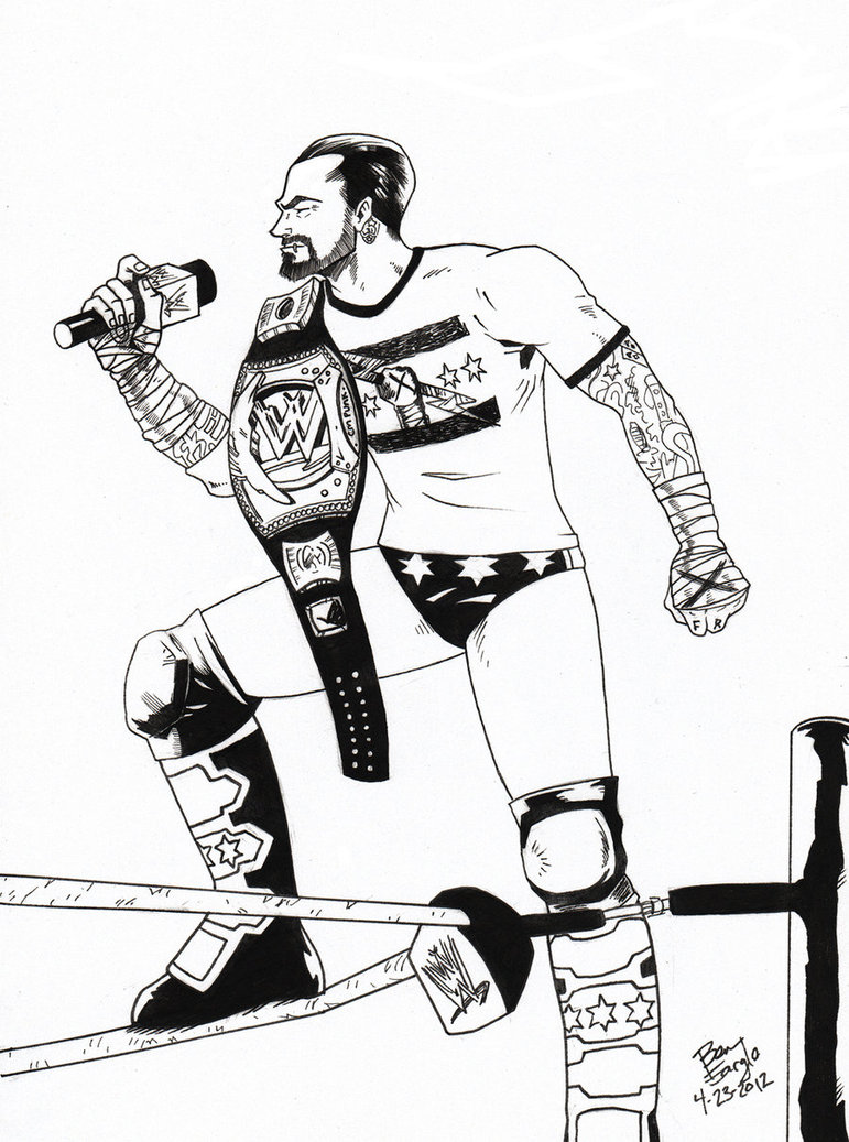 771x1037 Cm Punk By Drspilkus Wwe All., Cm Punk And Punk