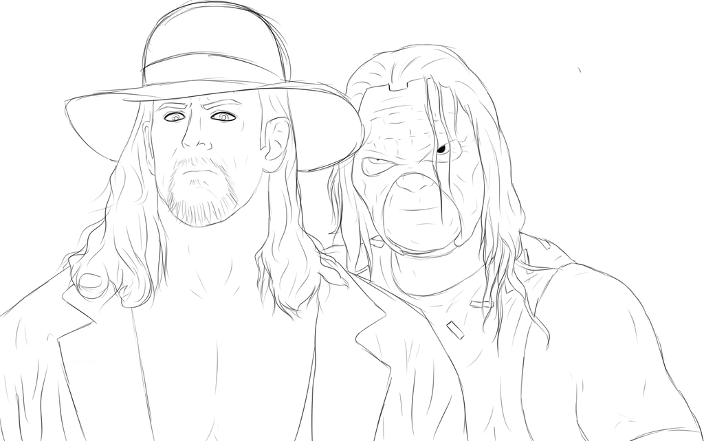 1024x642 Wwe Brothers Of Destruction (Sketch) By Sweaboo
