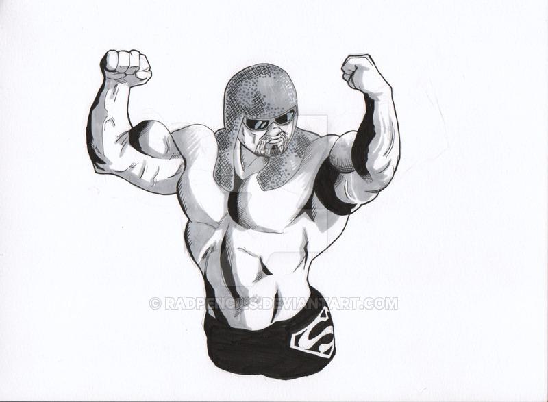 800x587 Wwe Scott Steiner By Radpencils