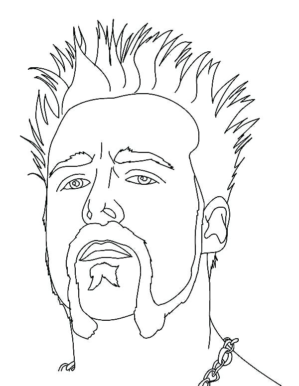 600x775 Wwe Coloring Page Cm Punk Coloring Pages Cm Punk Coloring Pages