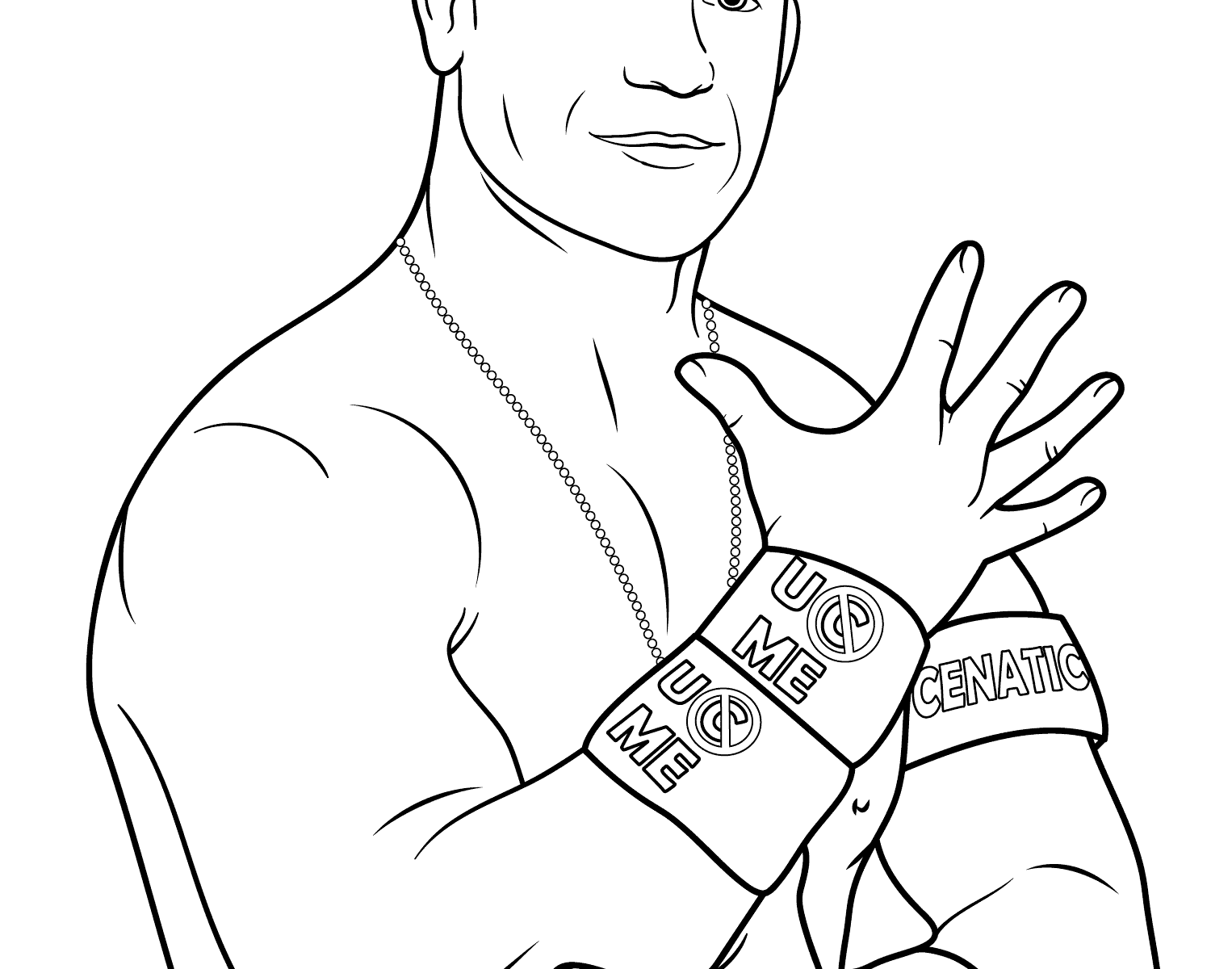 1526x1200 Elegant John Cena Friends Coloring Pages Wwe And Page Free Adult