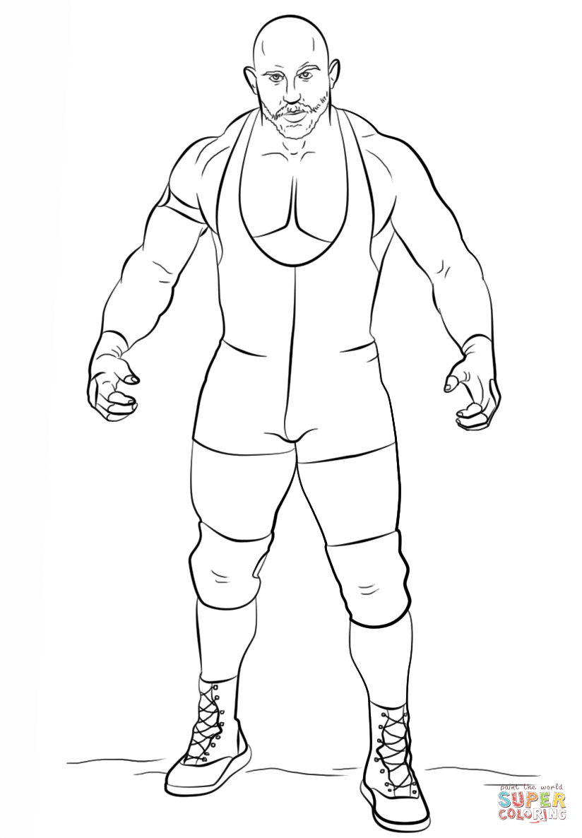 824x1186 Wwe Logo Coloring Pages