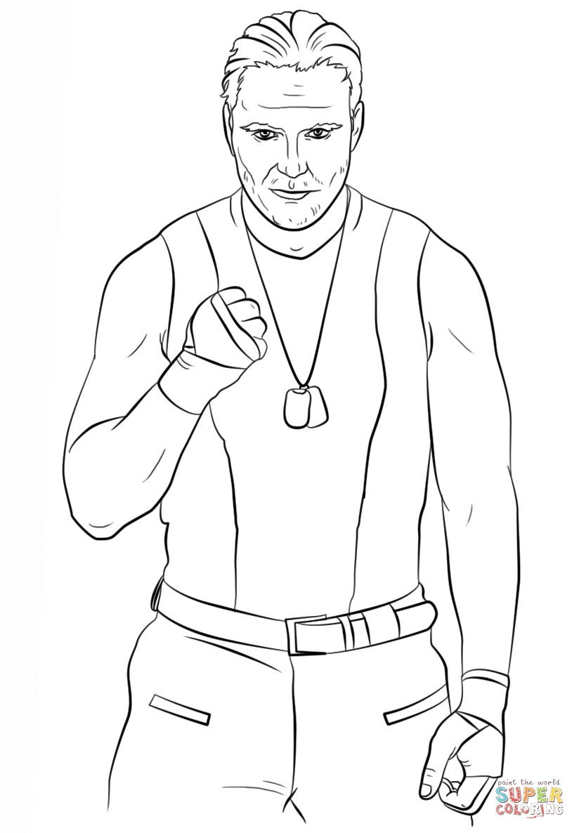 wwe daniel bryan coloring pages | Wwe Ryback Drawing at GetDrawings.com | Free for personal ...
