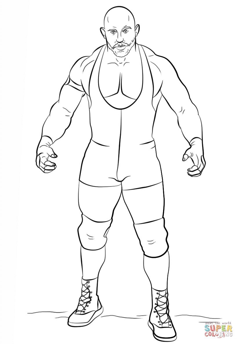 Wwe12 - Free Coloring Pages