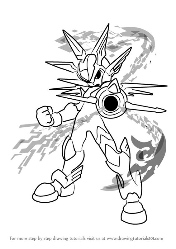 Dibujos De Megaman X Para Colorear Dibujos Para Pintar De Megaman X ...