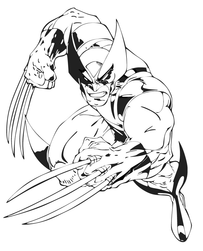 703x867 Perfect X Men Coloring Pages 70 For Your Coloring Pages Online