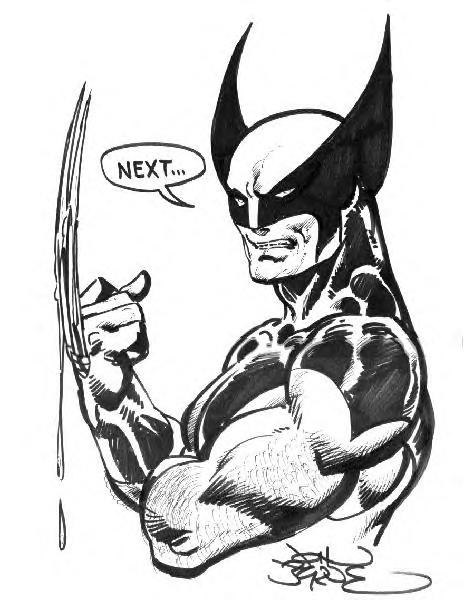 465x606 Wolverine X Men Drawings Comics John Byrne