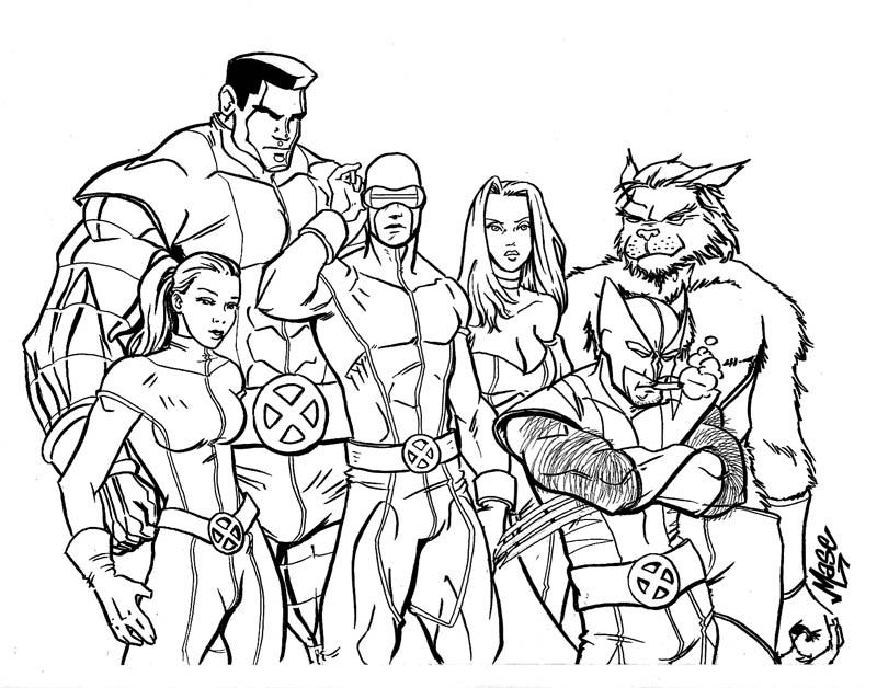 800x628 X Men Drawings X Men Drawing Wolverine