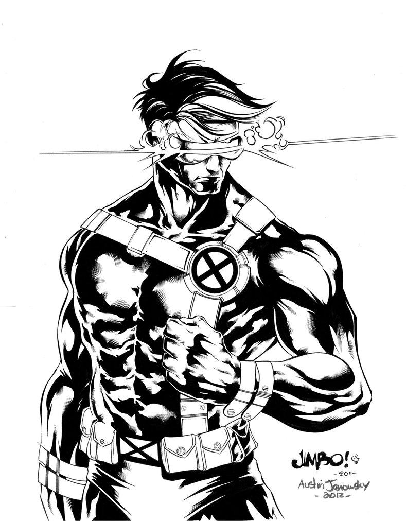 789x1012 X Men Cyclops By Austinjanowsky