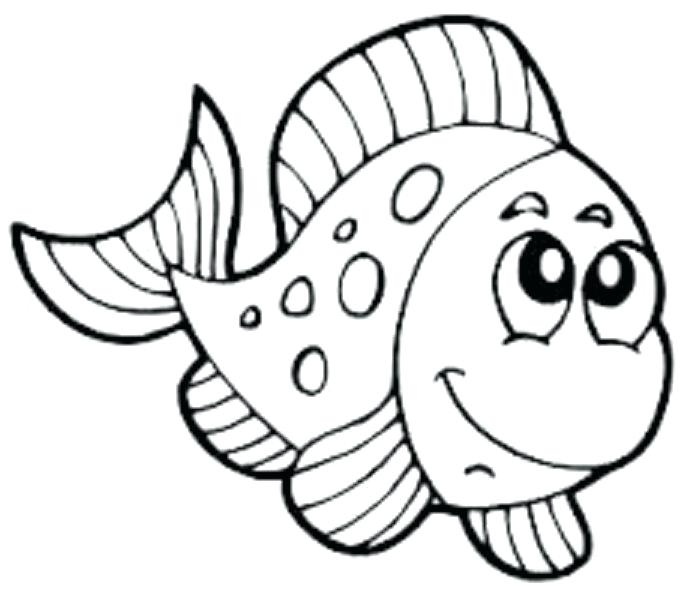 681x600 Magnificent Charming X Ray Fish Coloring Page Free Download Pages