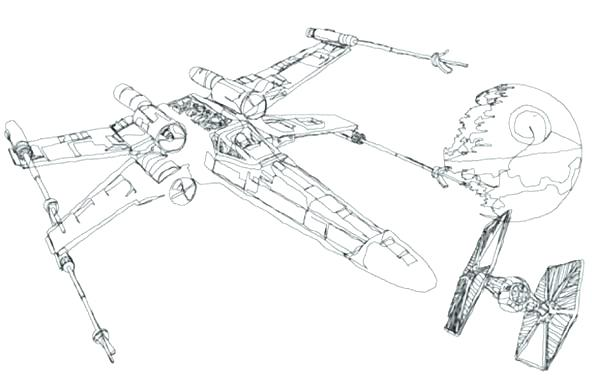 600x386 Space Ship Coloring Page Space Ship Coloring Page Star Wars