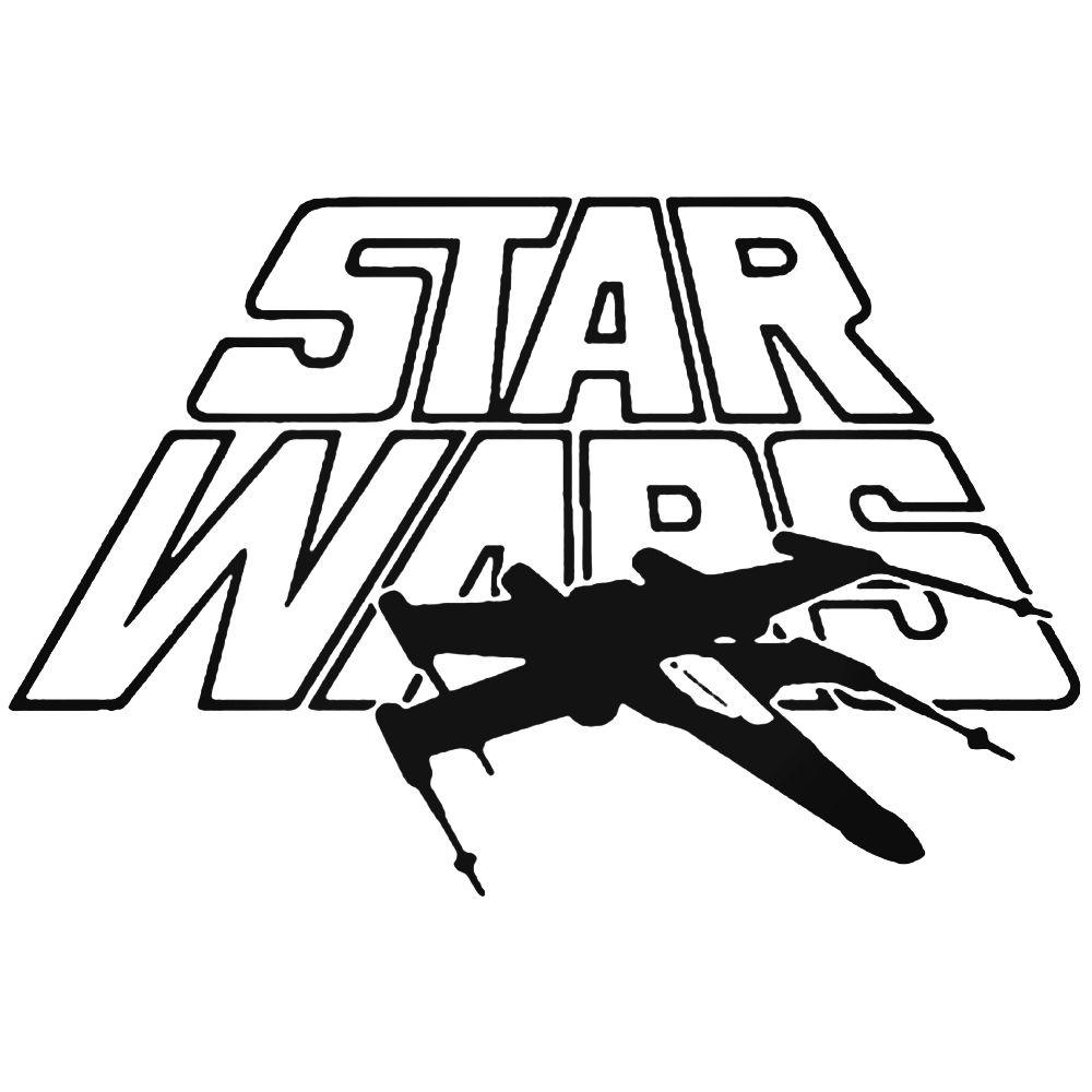 1000x1000 Wars X Wing Decal Sticker