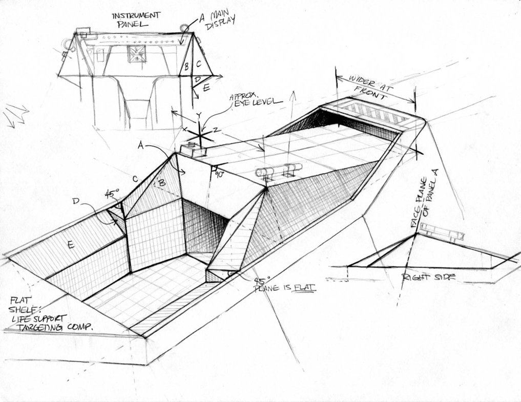 1017x785 X Wing Cockpit Modeling Sheet By Woodylwg