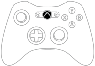 Xbox 360 Controller Drawing at GetDrawings com   Free for