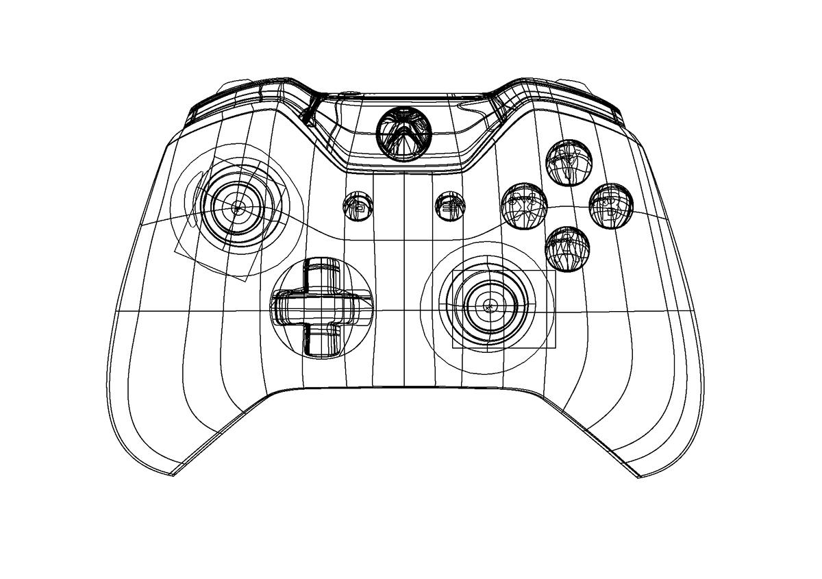 1200x845 Xbox One Controller