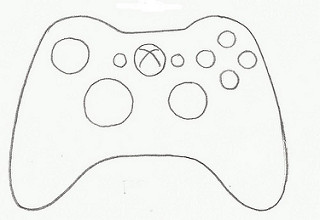 320x220 Video Game Controller Xbox Cookie Cutter More New Cutter