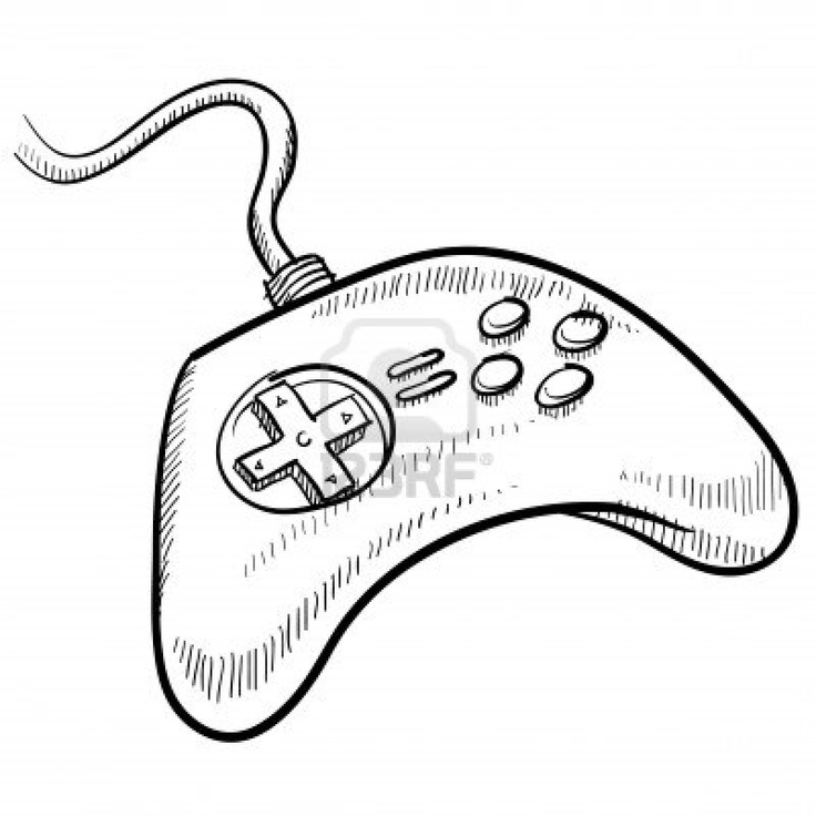 Xbox Controller Drawing At Getdrawings Com