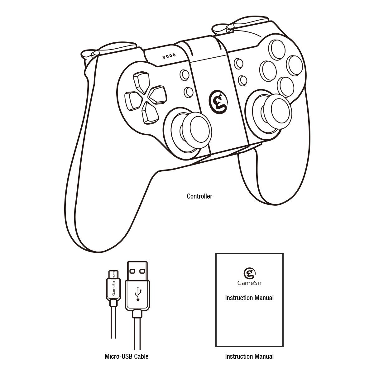 Xbox One Controller Drawing At Getdrawings Com Free For