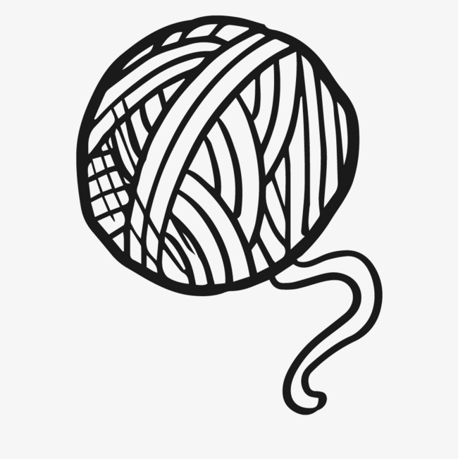 yarn coloring pages - 650×651