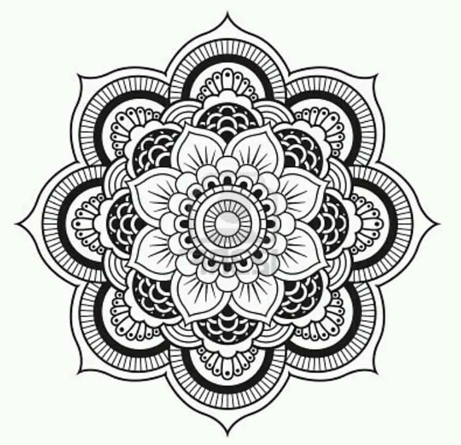 900x870 Get Knotted Yarn Craft Mandela Mandala