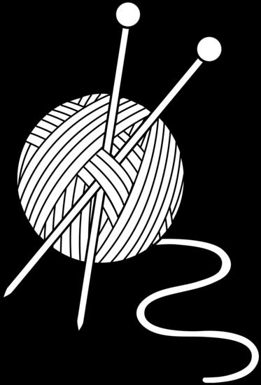373x550 Yarn%20clipart%20black%20and%20white Design Clip