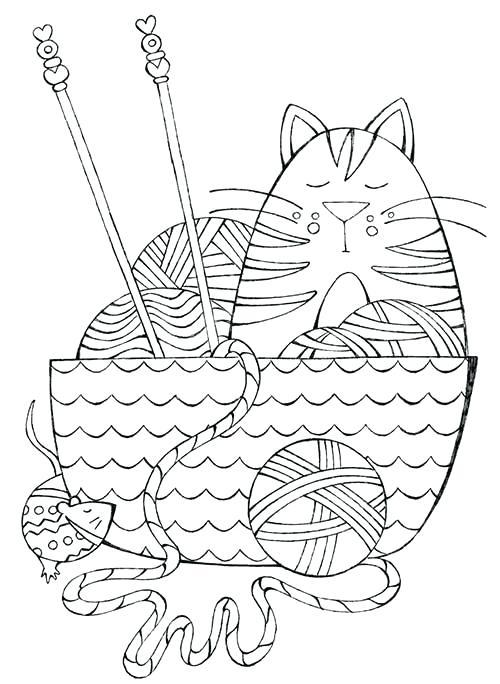 Yarn Drawing at GetDrawings.com | Free for personal use Yarn ...