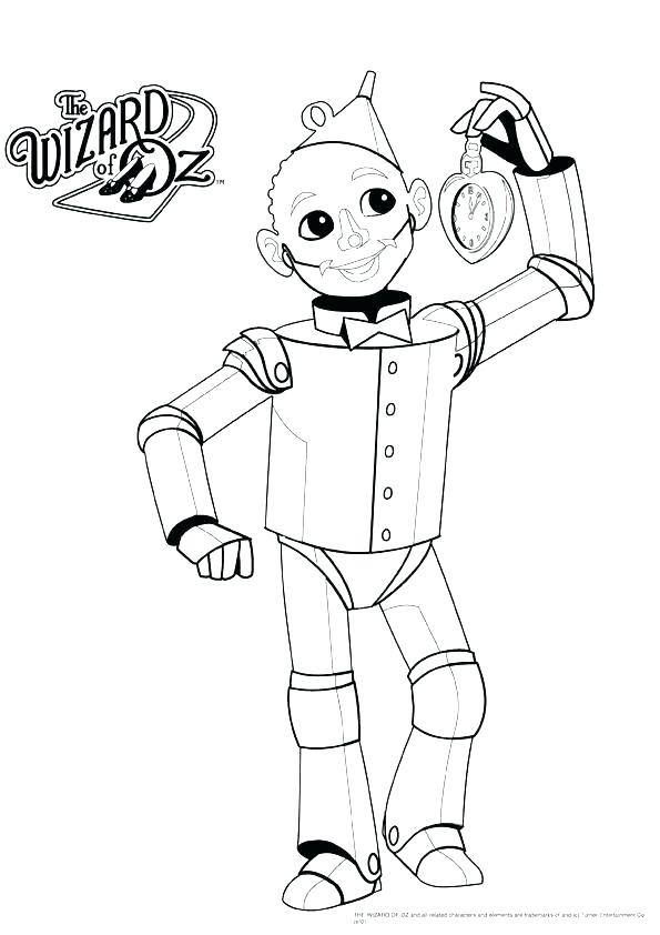 595x842 The Wizard Of Oz Coloring Pages Scarecrow In Free Wizard Of Oz