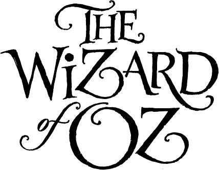 428x333 The Wizard Of Oz By Cbdo Lettering Amp Typography
