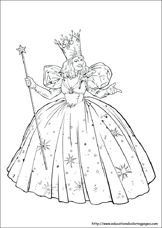 567x794 Wizard Coloring Pages Print Wizard Of Oz Coloring Pages Yellow