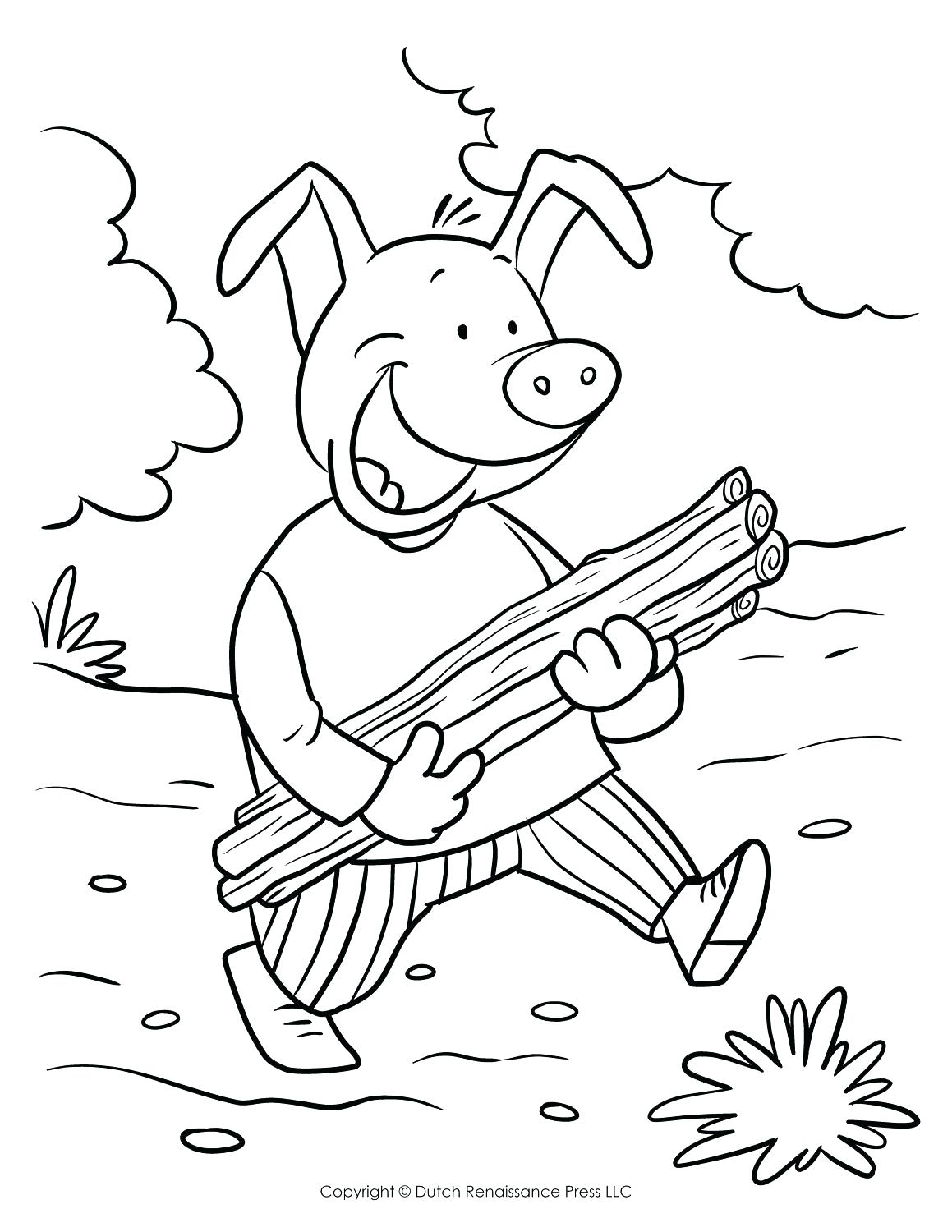 1159x1500 Coloring Sick Coloring Pages Three Little Pigs Yellow Brick Road