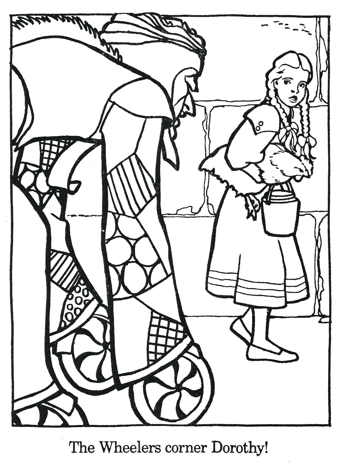 1164x1600 Coloring The Wizard Of Oz Coloring Pages 6 Pics Yellow Brick Road