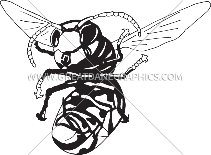825x609 Yellow Jacket Production Ready Artwork For T Shirt Printing