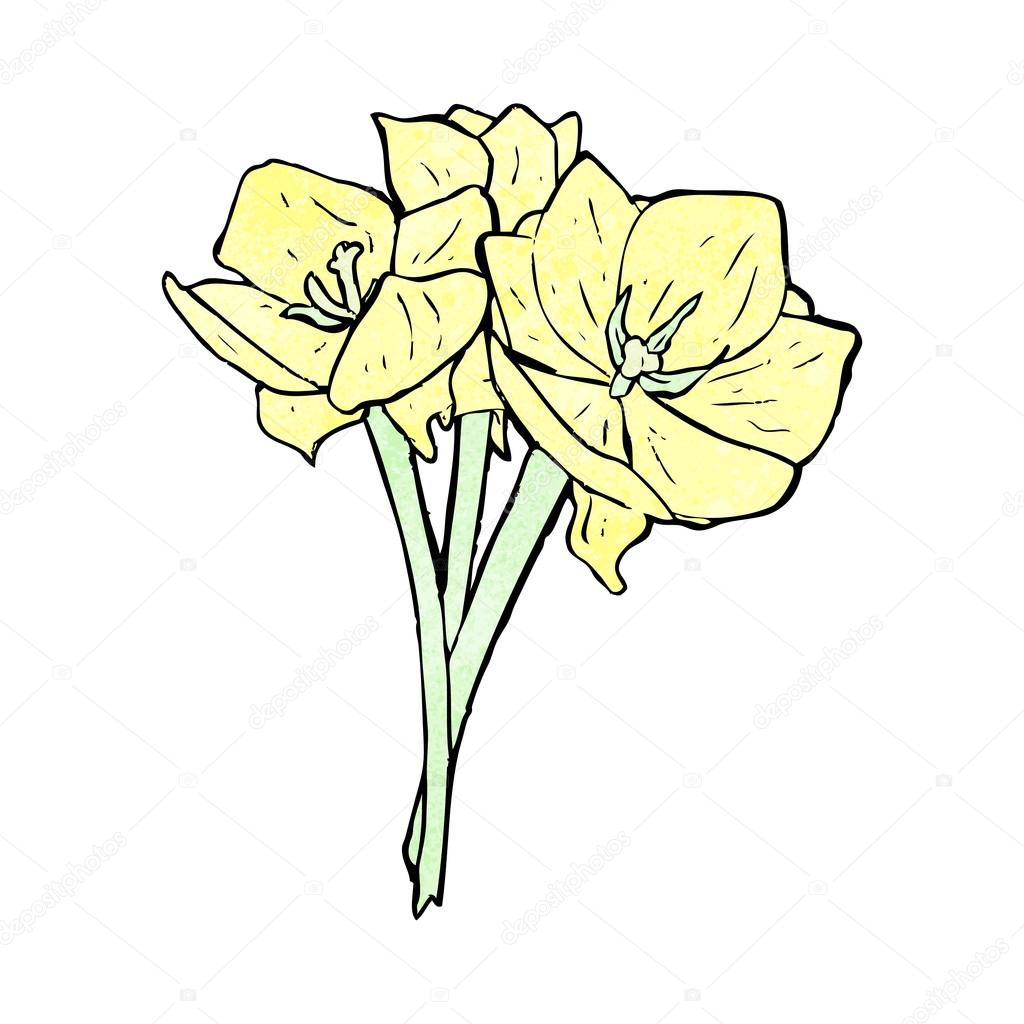 1024x1024 Tulip Flowers Stock Vector Lineartestpilot