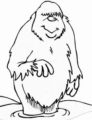 Yeti Drawing At GetDrawings