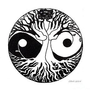 298x300 Yin Yang Drawings
